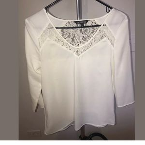 Express Cream Blouse XS